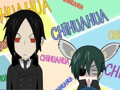 Poor Chihu.......... I mean Ciel! lol