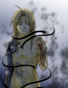 Fullmetal Alchemist. Great dubbed of subbed. Prefer Vic Mignogna's cute little boy voice a lot more, though. <3