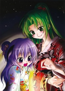Mion and Hanyuu..thay are so kawaii in this picture <3