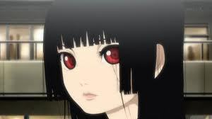 Ai from Hell Girl. She is [i] very [/i] pale!