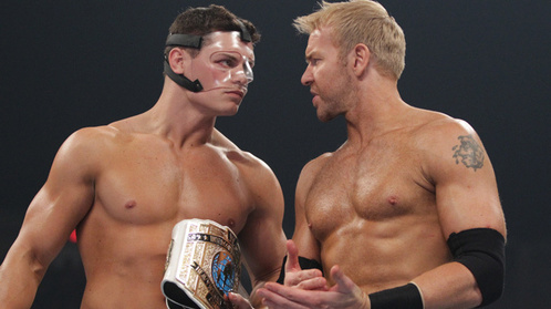 Christian & Cody Rhodes. Without A секунда Thought ^_^ & Jack Swagger He's Hot.