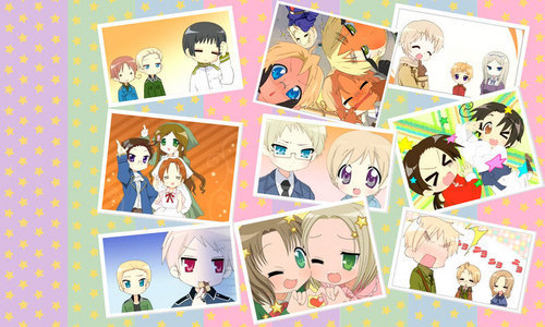 None, I swear this is one of the first anime, no ANYTHING where I loved everyone of the characters. They all have great personalities, they're all funny, amazing history backgrounds, and have great bonds with other characters. I mean some are better then other, but they are all great and well put together characters. *le gasp* What? I upendo France and Seychelles? The most hated and least populer male and female characters. Yes, what a shocker! Why? Because they're GREAT characters!