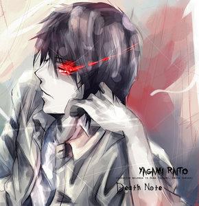 你 shall be VERY surprised with this... *takes a deep dramatic breath* Light Yagami. XP