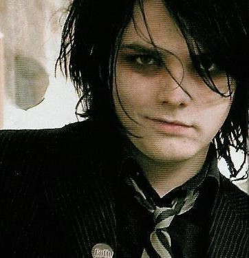 Gerard Way (in this look...which I LOVE!)