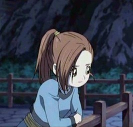 Kluke from Blue Dragon is pretty pale. usually depends on the light how pale she looks but she looks really pale if u compare her to the other characters in Blue Dragon.
