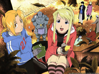 My 最喜爱的 日本动漫 is: Full Metal Alchemist. I also 爱情 Soul Eater, Ouran, Death Note, 火影忍者 and Bleach. Fave movie's: FMA COS and SSOM. Anything like Howl's moving castle, Spirited away, 城堡 in the sky also