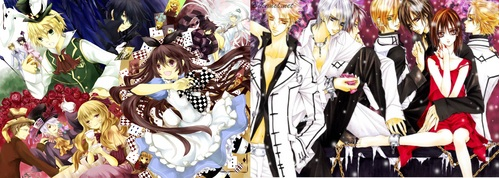Pandora Hearts 或者 Vampire Knight, i just can't choose between those two! these are both my number 1 日本动漫 series!