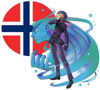 Norway. Because he's freaking awesome. Enough said. Bl