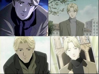 Johan Liebert, Don't get him upset, if 你 do 你 won't live to see tomorrow Anime: Naoki Urasawa's MONSTER