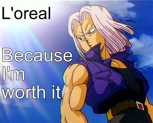 obviously trunks.he's the cutest man ever