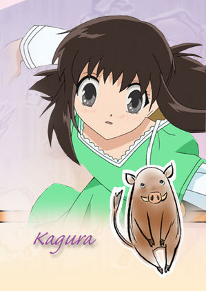 Kagura from Fruits basket