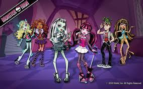 MONSTER HIGH!!!!!!!!!!!!!! M-O-N-S-T-E-R MONSTERS MONSTERS YES WE ARE!