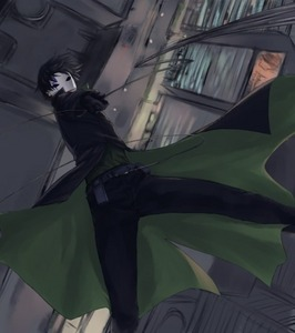 i always thought Hei's outfit was badass! (Darker Than Black) I LOVE THIS PIC!! <3