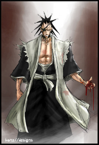 Ichigo was lucky to beat him once but even he's not stupid enough to take him on again! Kenpachi Zaraki- Bleach