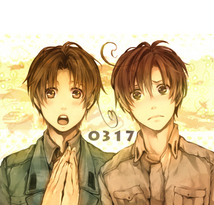 Either North Italy (left) or South Italy (right)! They're both just so adorable! ;A;