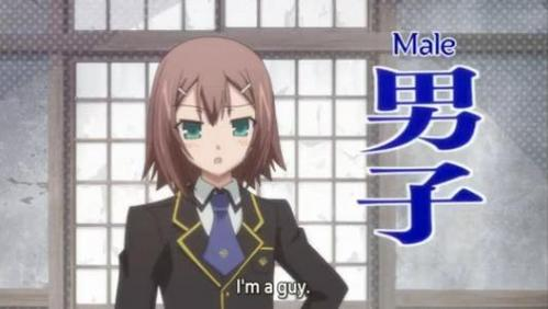 Hideyoshi from Baka To Test to Shoukanjuu! No matter how many times I look at him he STILL looks like a girl!