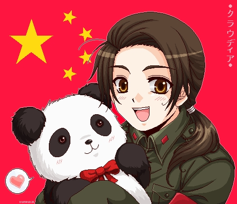 China form Hetalia. At least,I've seen quite a few people mistake and still believe him as a girl.