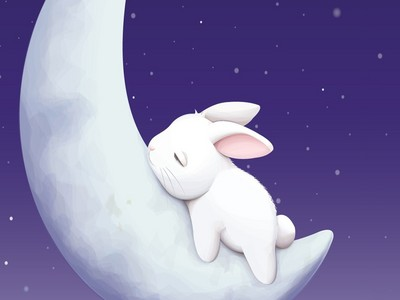 """I'm a white bunny with 3 legs (\__/) (^w^ ) ("""")_("""")"""