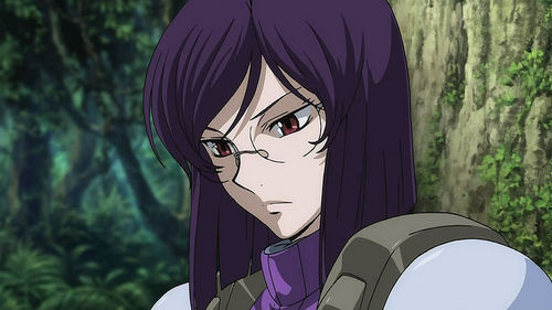 Tieria Erde - Gundam, an he's actually my kegemaran in the series! XD