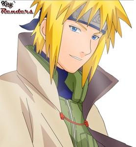 Minato Namikaze from Naruto <333