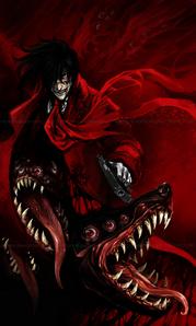 Alucard - Hellsing art sejak akreon