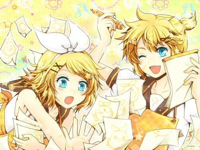 rin kagamine ~ ( ignore len if 你 wanna , my post is rin )