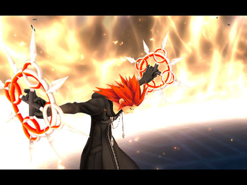 I have no pictures of an anime character wielding my favorite weapon so my second favorite is...