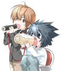 L  - Kun! 。◕‿◕。  (the one with the cake roll!)