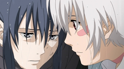 nezumi / no.6 i think shion was crying too, i can't remember ~