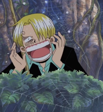 Sanji from One Piece he usually has one in his mouth!