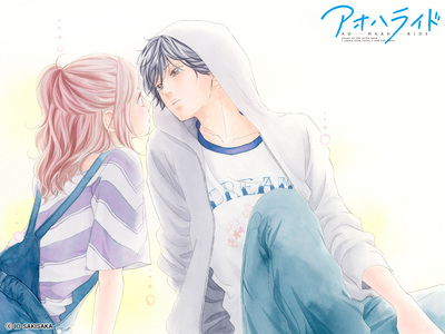 Kou and Futaba from Ao Haru Ride... I 爱情 this 日本漫画 :D