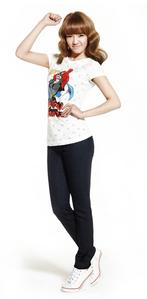 Hyoyeon and SPAO! ^^ Shirt: http://style.ssf.netdna-cdn.com/wp-content/uploads/2011/05/wwhyo.jpg
