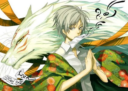 Natsume from Natsume Yuujinchou Is an orphaned that has the ability to see Yokai and because of this he is an outcast. I cry so much when I watch this Anime! (T^T)