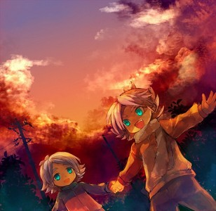 Fubuki Shirou and Fubuki Atsuya!! They Lost their parents in an avalanche!! Shirou was the only one who survived..T.T