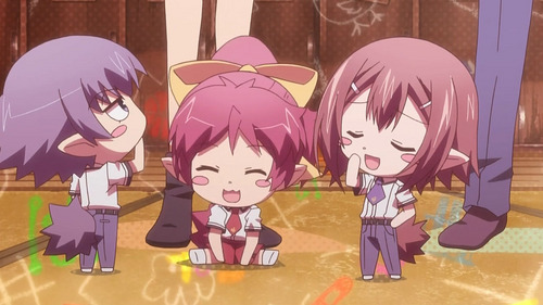 Right now I'm watching Baka to Test :3
