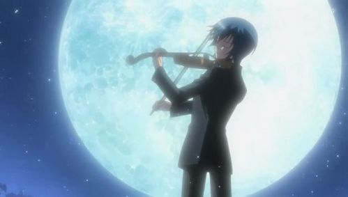 Well I would recommend Shugo Chara, the anime is not exactly about music. But a character of that anime (my favorito! :3) plays the violin.