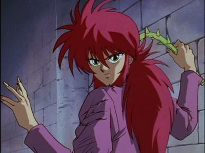 If I could marry an anime boy, it would probably be Kurama from Yu Yu Hakusho.