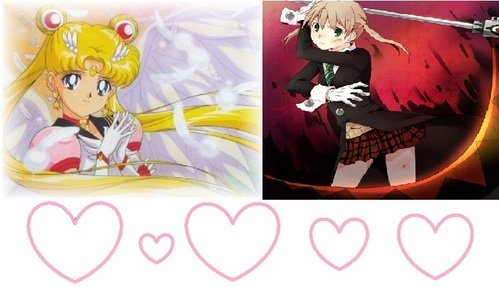 Too obvious! I'd marry Sailor Moon <3 <3 <3 But if she and Tuxedo Mask are REALLY destined to be together forever, my susunod choice would be Maka Albarn from Soul Eater <3