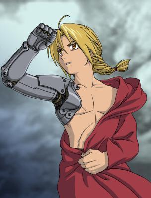 Edward Elric from Fullmetal Alchemist.