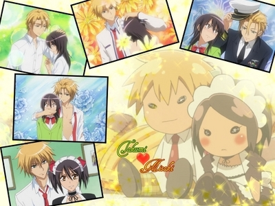 Maid sama ! In the past ,Present, and for ever