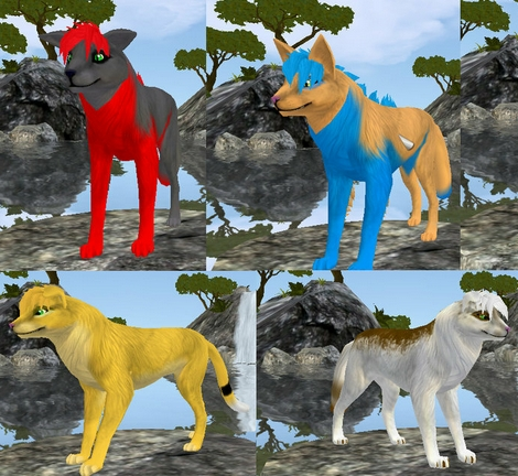 are there any more free games like wolfquest? (animal ...