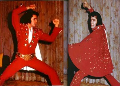 Now THIS is The KING.. In His BEST Color.. RED!!;) A-Hunka-Hunka Burnin' Love, Bay-bah!!