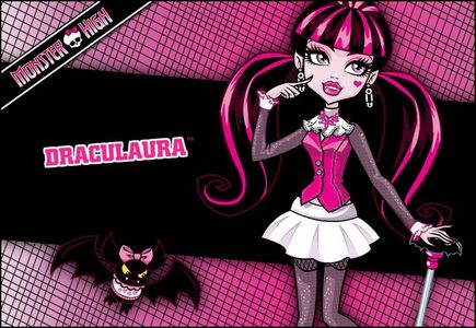 The MH pet is Draculaura's pet count fabulous.