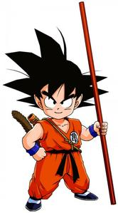 Dragon Ball - Kid Goku? Maybe he could be the shortest, and the tallest? आप know, cause he transforms into an ape during the full moon.