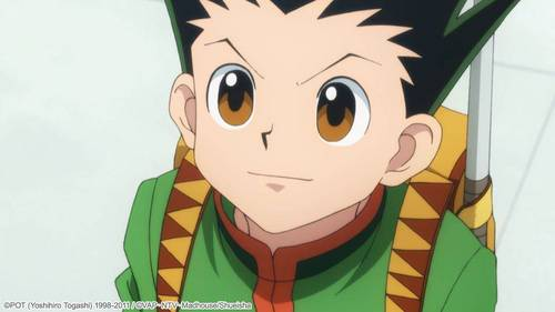 I've got two -Gon from Hunter x Hunter (the picture) -Fuko Ibuki from Clannad but I onlu post Gon,,,sad for me