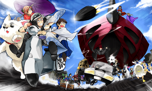 Gintama for me! XD I want to be a resident of Kabuki-chou and experience their troublesome yet (seems like) fun life! XD