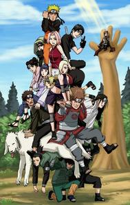 I'd choose Naruto coz it's the first animé I saw and it introduced me to the rest of tthe animé world.
