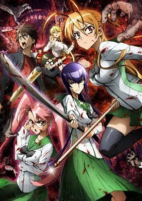 Highschool of the Dead. Why? Killing zombies would be fun.