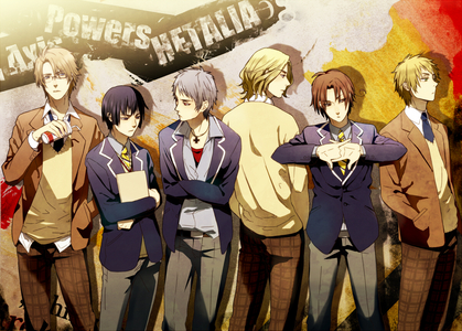 For me, it would be Hetalia because it would be fun to hang out with them.