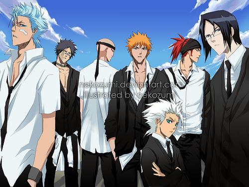 I'd either live in the Death Note universe 또는 the 나루토 universe... 또는 Bleach.. Death Note: They have Death Notes and 사과, 애플 obsessed shinigami...and L. Naruto: It's an awesome ninja filled world with fun and interesting things to do...plus I could be a ninja and use chakra.. Bleach: Awesome shinigami and the existence of Soul Society adds to the awesomeness. :P I couldn't choose just one...ahaha.. ^-^'